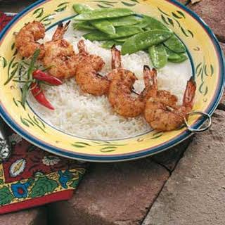 Spicy Cajun Shrimp.