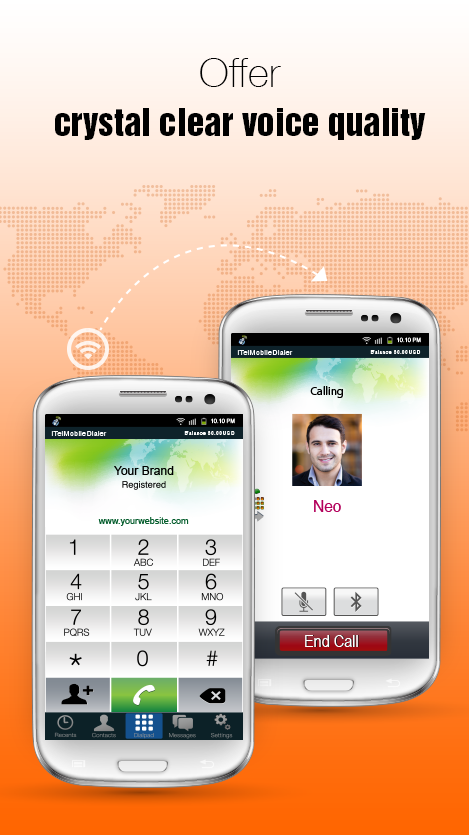 iTel Mobile Dialer Express- screenshot