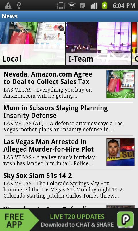 8 News NOW | KLAS-TV Las Vegas - screenshot