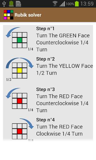 【免費解謎App】Rubik solver-APP點子