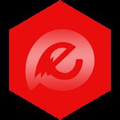 EvolveSMS Theme - Minimus Red