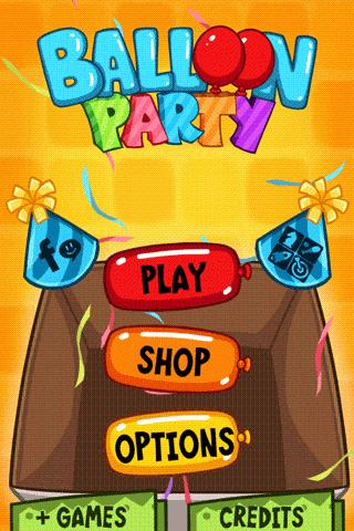 Balloon Party - Birthday Game- screenshot