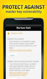 Norton Halt exploit defender- screenshot thumbnail