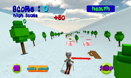 Ski Sim: Cartoon 體育競技 App-愛順發玩APP