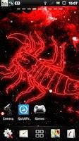 Screenshot of Scorpio live wallpaper