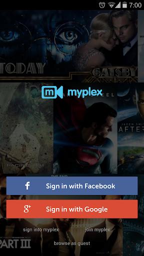 Myplex Movies Live TV online