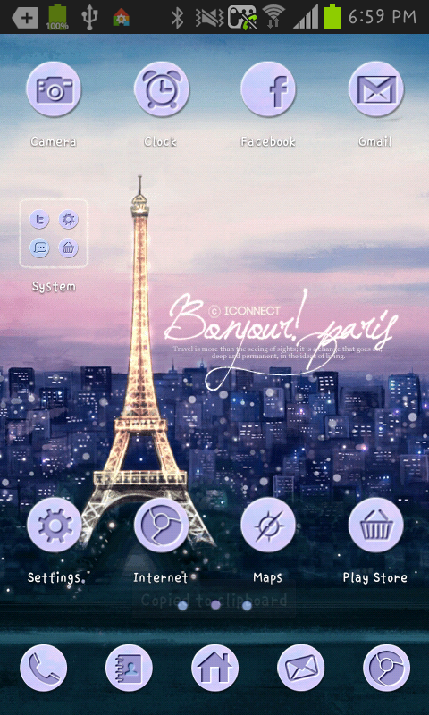 Paris go launcher theme - Revenue & Download estimates