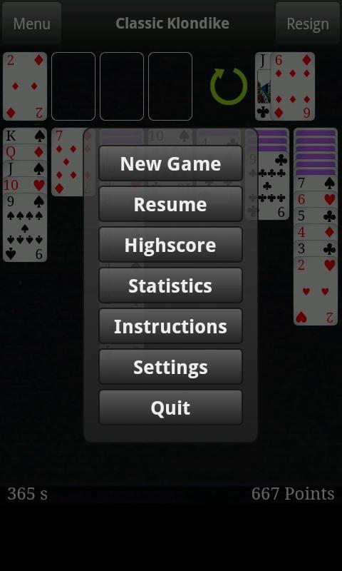 Classic Klondike Free - screenshot