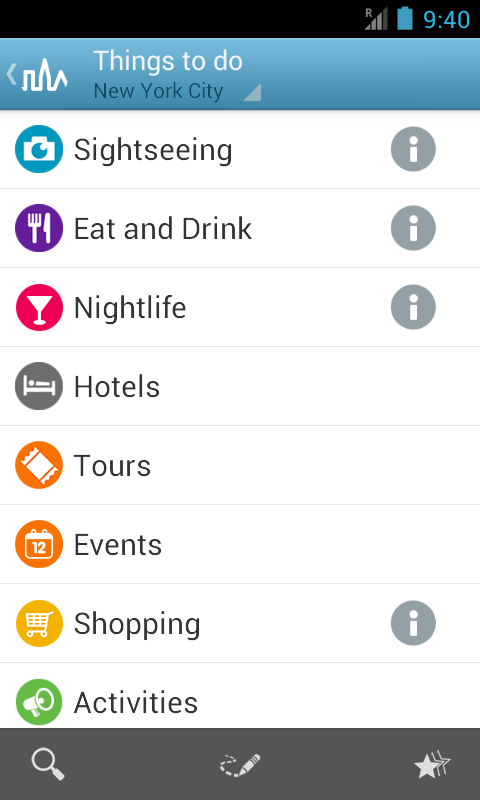 New York City Guide by Triposo - screenshot