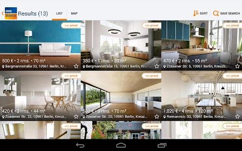 Immobilien Scout24 - screenshot thumbnail