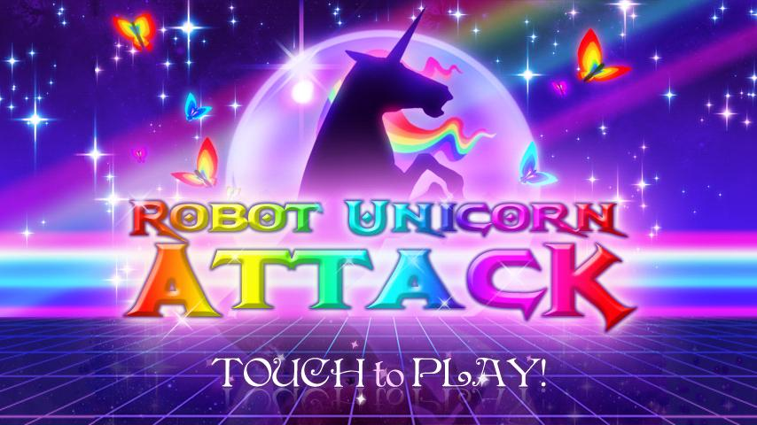 Robot Unicorn Attack– skärmdump