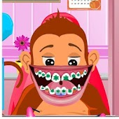dentist  game-cute monkey