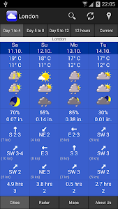 WeatherOnline Weather screenshot 0