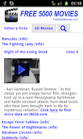 Screenshot of Free 5000 Movies