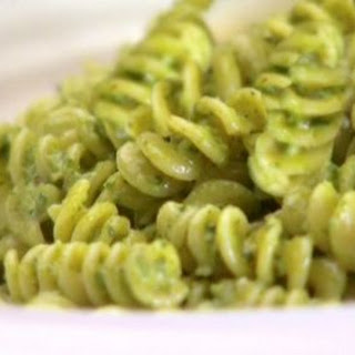 Fusilli With Spicy Pesto.