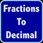 Fractions Decimals Calculator icon
