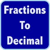 Fractions Decimals Calculator