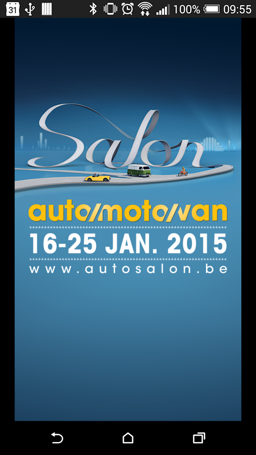 Autosalon 2015 Brussel - screenshot
