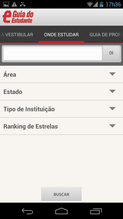 Guia do Estudante - screenshot