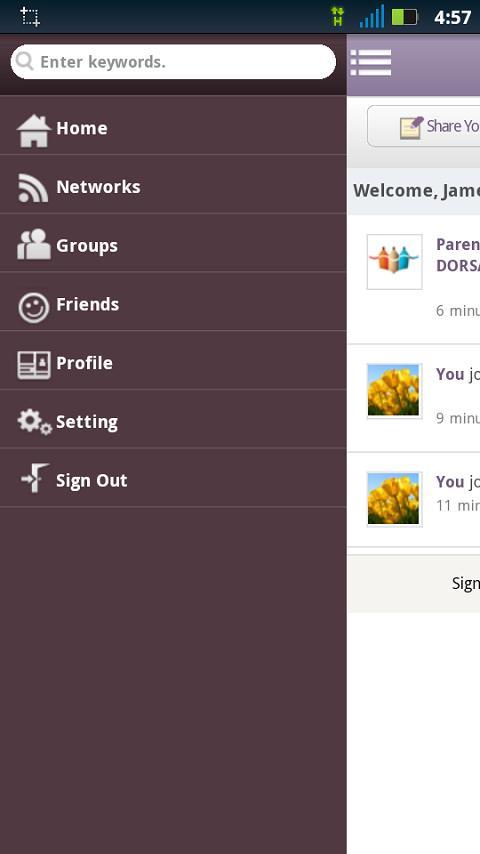 Parentie- screenshot