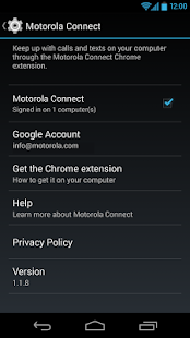 Motorola Connect - screenshot thumbnail