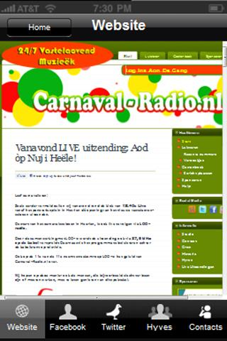 Carnaval Radio - screenshot