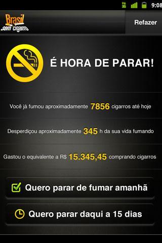 Brasil sem Cigarro - screenshot