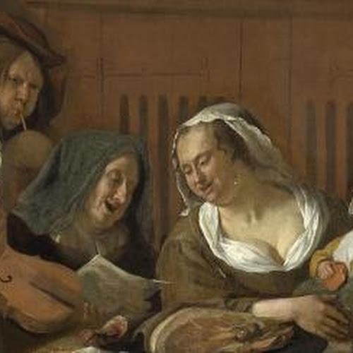 Sint Nicolaasfeest Rijksmuseum.Jan Havicksz Steen Kunstenaars Rijksstudio Rijksmuseum