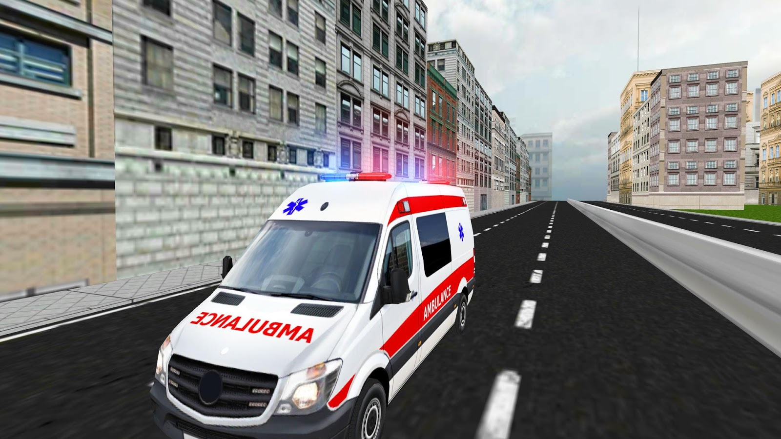 Screenshots of City Driving 3D for iPhone