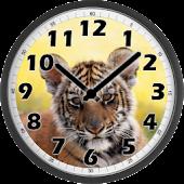 Little Tiger Clock