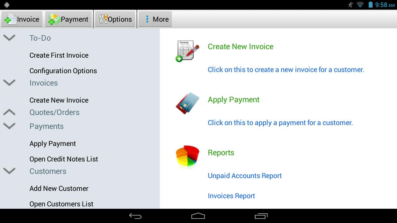Express Invoice Plus - screenshot