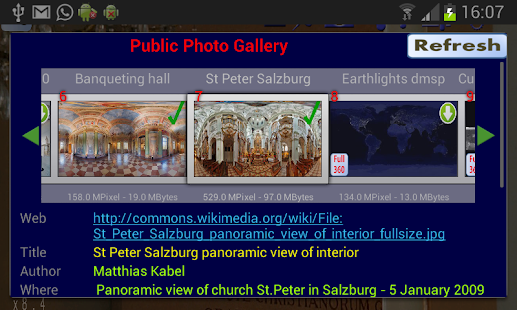 Panorama Photo Viewer 360 PRO - screenshot thumbnail