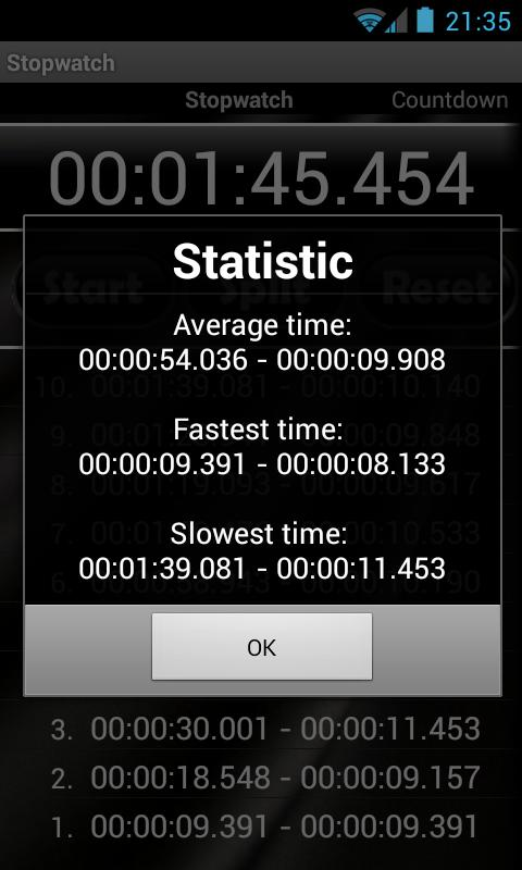 Stopwatch & Countdown Timer- screenshot