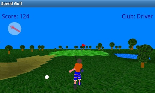 Speed Golf Lite - screenshot thumbnail