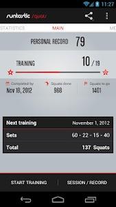 Runtastic Squats Workout PRO v1.9