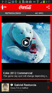 Coca-Cola FM Brasil - screenshot thumbnail