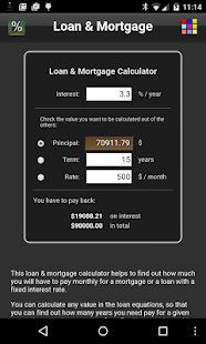 Loan & Mortgage Free- screenshot thumbnail