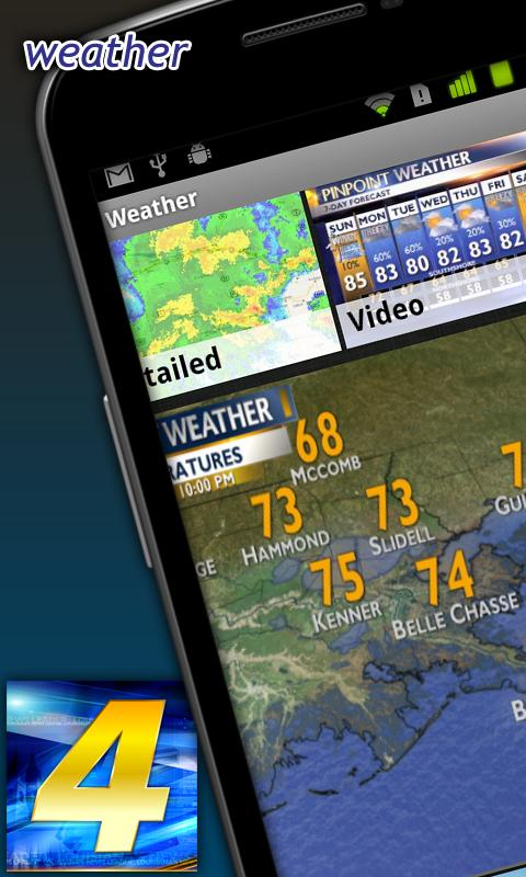 WWL-TV News - screenshot