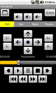 MPC-HC Remote Control- screenshot thumbnail