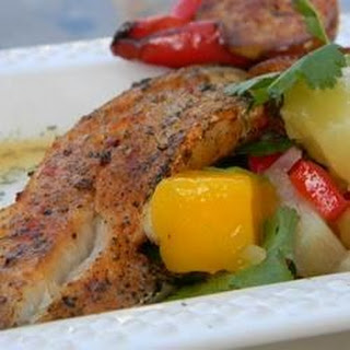 Paprika-Spiced Grilled Cod and Party-in-Your-Mouth Mango Salsa!