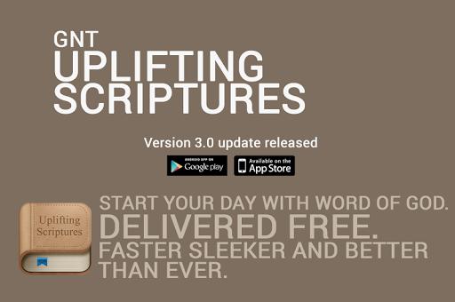 Uplifting Scriptures - GNT