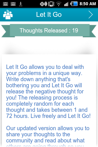 Let It Go: Vent and Release- screenshot