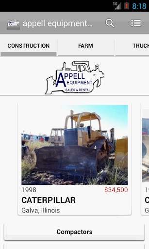 appell equipment sales