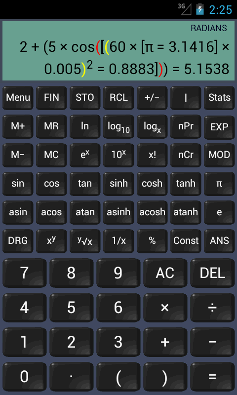 Financial Calculator (adfree)- screenshot
