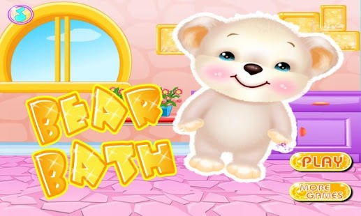 Little Bear Bath Care Game