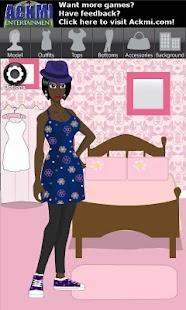 Ackmi Dress Up Free Girls Game- screenshot thumbnail