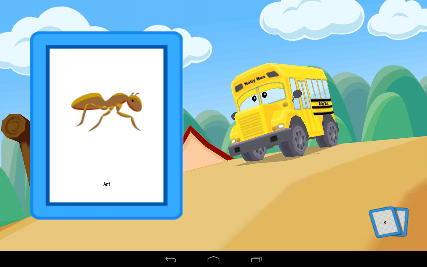 Alphabet Car: Learn ABC's Lite - screenshot