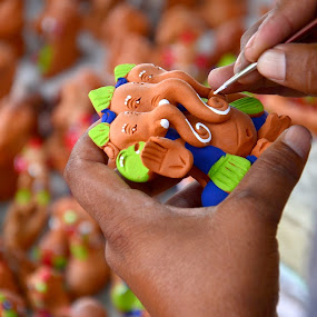 by Subramanya Padubidri - Artistic Objects Other Objects