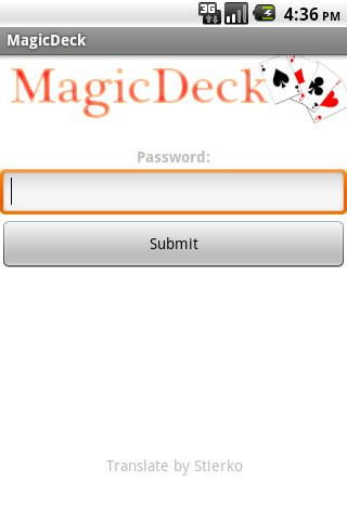 Magic Deck - screenshot