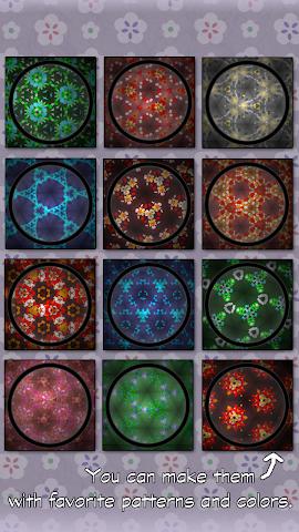 Screenshots for Kaleidoscope LiveWallpaperFree